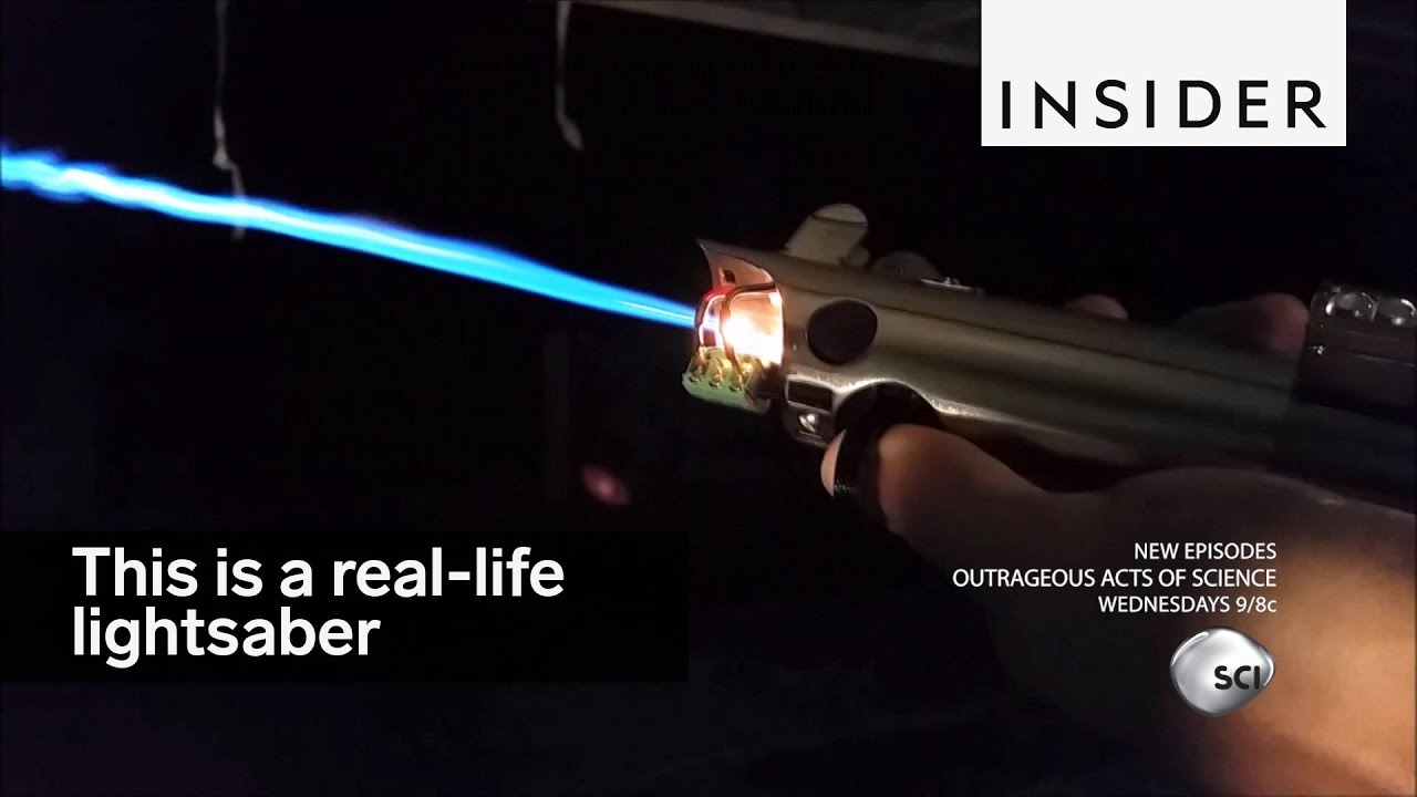 This is a real-life lightsaber – here's how it works