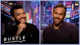 """Ryan Reynolds Plays """"Would You Rather"""" With The Cast of Detective Pikachu 