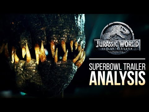 Jurassic World: Fallen Kingdom Trailer #2 | ANALYSIS & OPINION