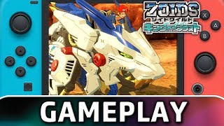 Zoids Wild: King of Blast | DEMO Gameplay on Switch