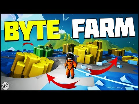 FREE BYTE FARM ! Astroneer Update 8.0 Gameplay | Z1 Gaming