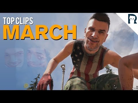 Top Clips of March 2018 - Lirik Stream Highlights #68