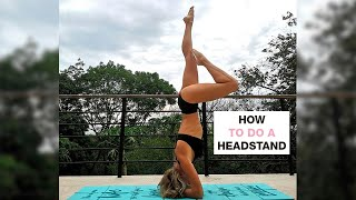 Headstand Yoga Flow I How To Do A Headstand