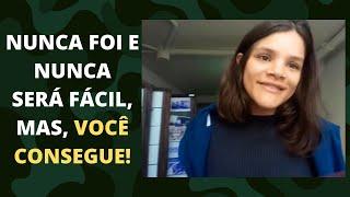 Depoimento da Aluna Letícia Oliveira , futura aprovada na EsPCEX!