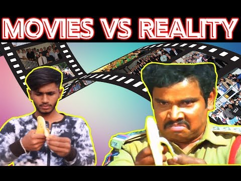 INDIAN MOVIES VS REALITY | HYDERABADI COMEDY | THUGS OF HYDERABAD