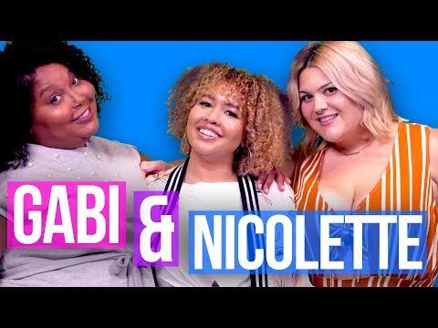GABI FRESH & NICOLETTE MASON INTERVIEW! - New Premme Line  // Fat and Fly AF   HISSYFIT