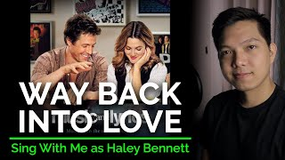 Way Back Into Love (Male Part Only - Karaoke) - Hugh Grant ft. Haley Bennett
