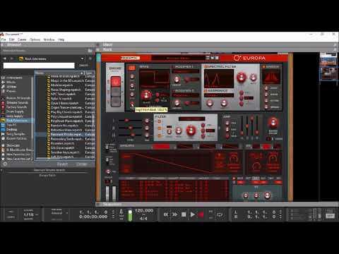 REASON 10 - The Europa Shapeshifting Synthesizer Preset Demo