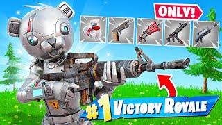 The GREY *ONLY* CHALLENGE in Fortnite! (SECRET SKIN)