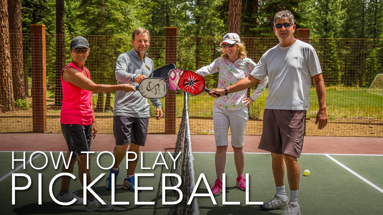 How To Play Pickleball Youtube