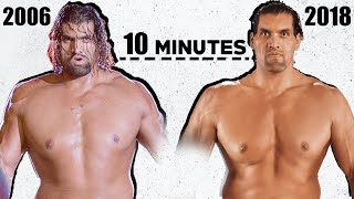 The Great Khali Full WWE Career in 10 MINUTES !