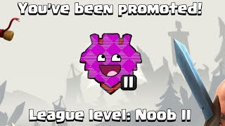 * NOOB ACCIDENTALLY FINDS BEST LEAGUE in CLASH OF CLANS *
