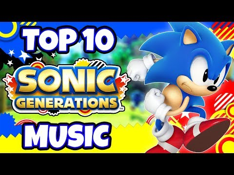 Top 10 BEST Sonic Generations Music Tracks