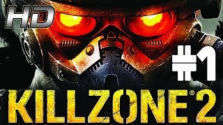 KILLZONE 2 - Chapter 1 - Corinth River 100% walkthrough (PS3) No commentary