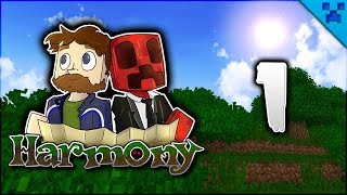 Minecraft Harmony | Team Pixlthon Begin Their Adventure! | Multiplayer Modded Survival Episode 1