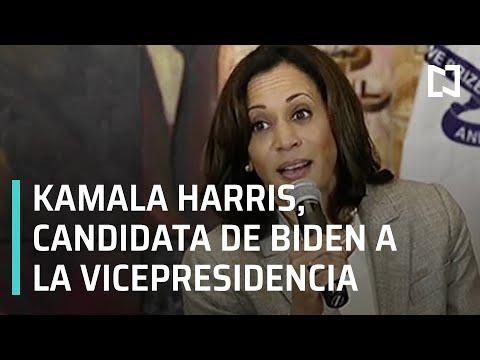 Biden elige a Kamala Harris como candidata a la vicepresidencia de EE.UU. - A Las Tres