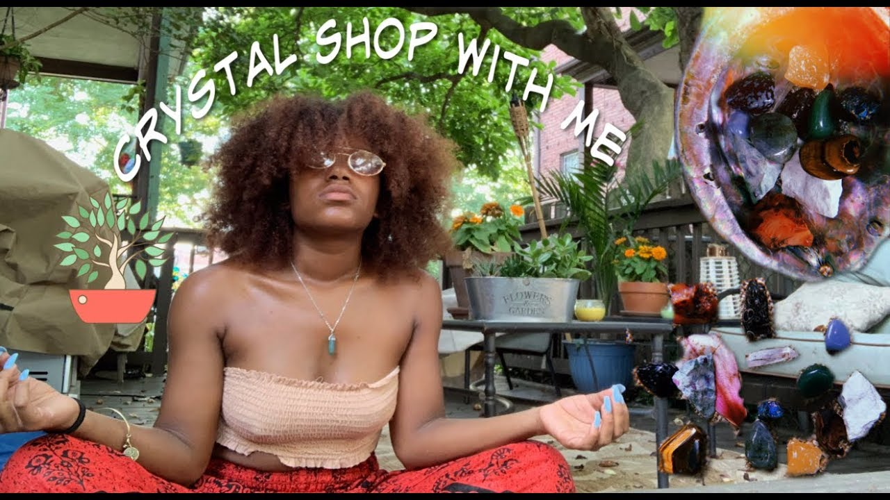 Crystal shop with Me/Haul #crystals #healing