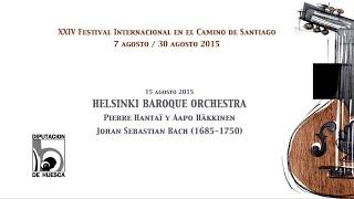 XXIV Festival Camino de Santiago. Helsinki Baroque Orchestra