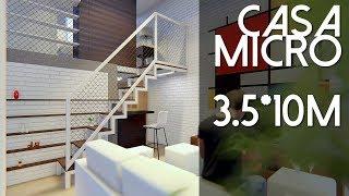 Gambar cover Desain Rumah MICRO - 3.5x10 m2 [kode 111]