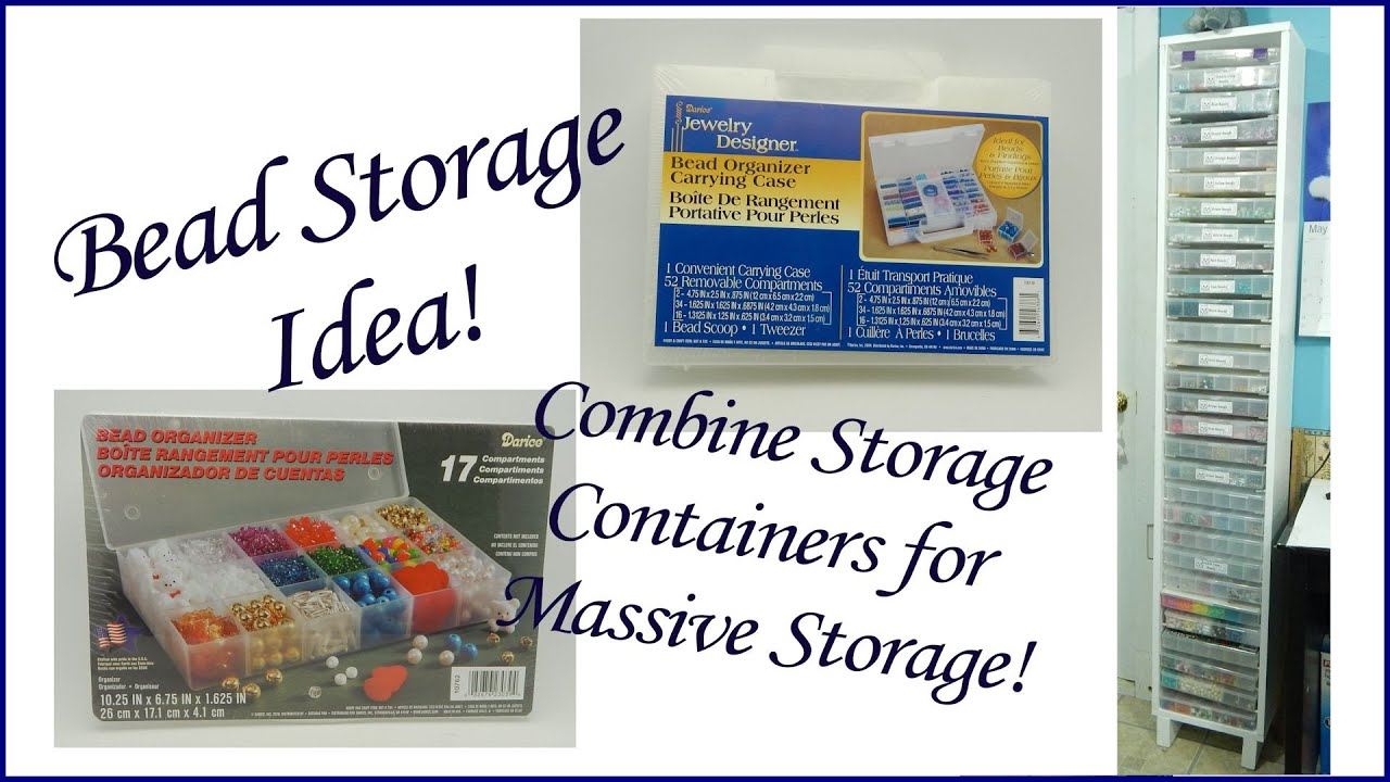 Massive Bead Storage Idea YouTube