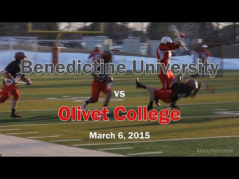 Benedictine University Lacrosse vs Olivet College (Full Game Highlights)