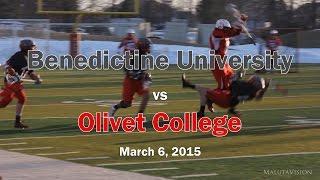 Benedictine University Lacrosse vs Olivet College (Full Game Highlights)