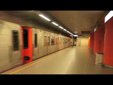 Brussels Metro Train 25 May 2017