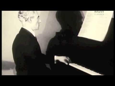 Maurice Ravel - Rare silent video (1928)