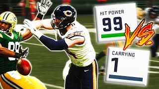 99 Hit Power Vs. 1 Carrying (Madden 19 Custom Game Mode)