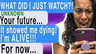 Watching A Video OF MY OWN DEATH!!! (Time Of Death | Cliffhanger | Texting Story)