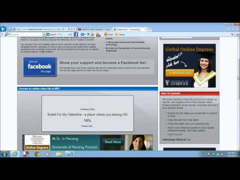 Tutorial - Convert youtube video to mp3 HD