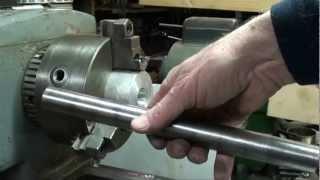 MACHINE SHOP TIPS  #78 Aligning Lathe Centers pt 1 of 2 tubalcain