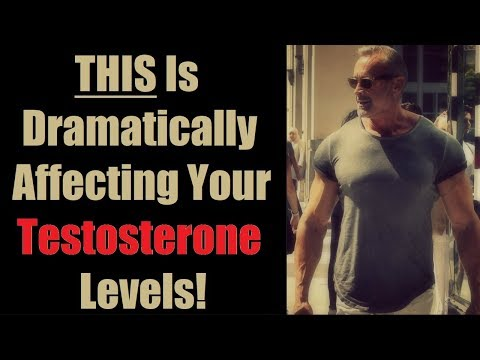 THIS Is Dramatically Affecting Your Testosterone Levels! (EASY TO FIX) | Cory McCarthy
