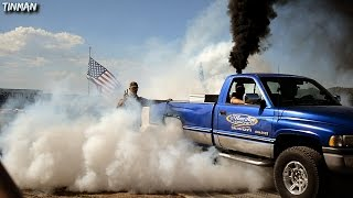 BURNOUT Contest w/rolling burnouts: AWESOME!
