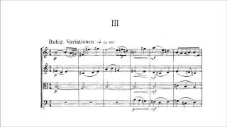 Paul Hindemith - String Quartet No. 6 [With score]