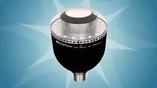 Bell & Wyson Ampoule LED 9W WIFI avec appareil photo et micro intégrés