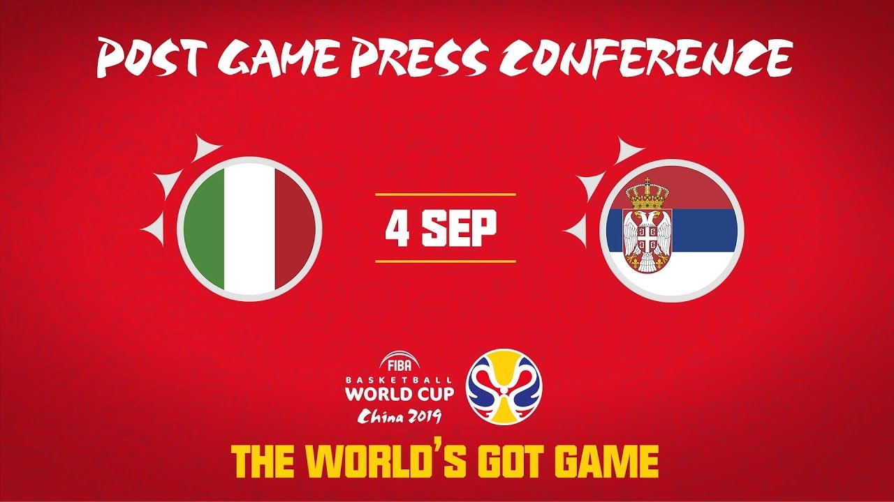 Italy V Serbia Boxscore Fiba Basketball World Cup 2019 4