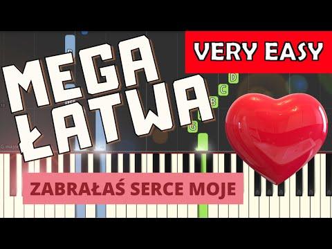 🎹 Zabrałaś serce moje - Piano Tutorial (MEGA ŁATWA wersja) 🎹