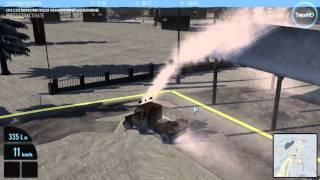 Snowcat Simulator 2011 Gameplay