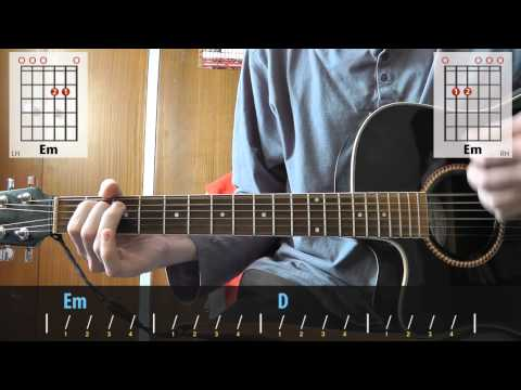David Bowie - China Girl | acoustic guitar lesson