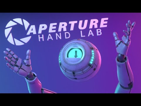 Valve Index - Making of Aperture Hand Labs (VR)