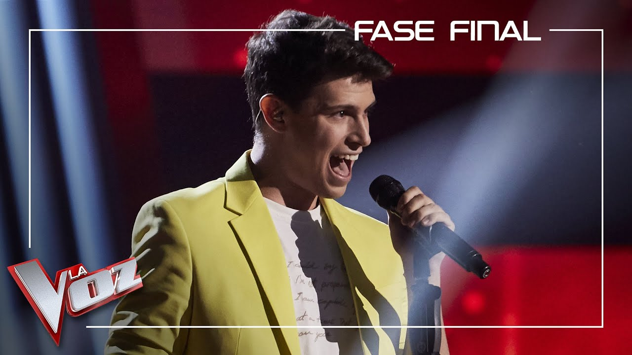 Roger Padrós Canta Feeling Good Fase Final La Voz Antena 3 2020 Youtube