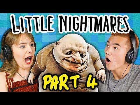 SURVIVE THE FEAST!! | LITTLE NIGHTMARES - Part 4 (React: Gaming)