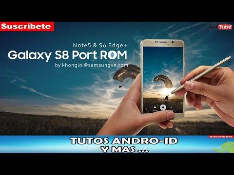 ROM!! KHONGLOI NOUGAT ROM PORT S8+ PARA S6 EDGE+ Y NOTE 5