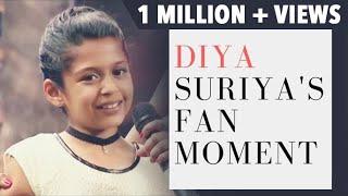 Diya Suriya's Fan Moment   Mithali Raj gifts a bat to Diya   JFW Awards 2017   JFW Magazine