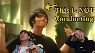 FAKE CONDUCTING? Classical Violinists Review Orchestral TV Scene (Nodame Cantabile)