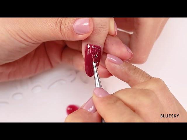 BLUESKY  Emboss Gel - decoración de uñas 2