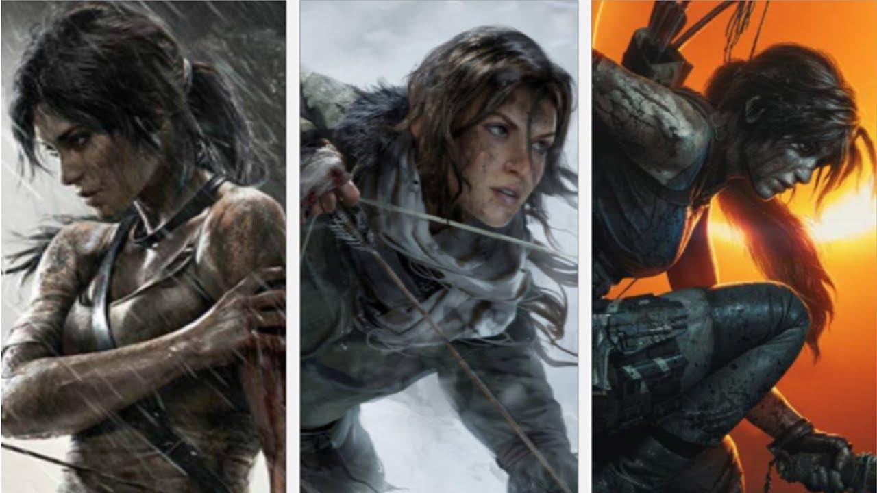 Tomb Raider Reboot Trilogy Trailer 2013 2018 Youtube