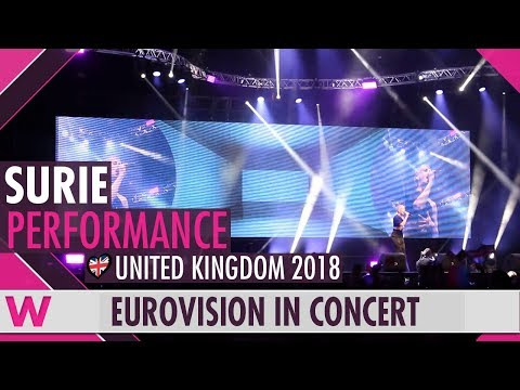 "SuRie ""Storm"" (United Kingdom 2018) LIVE @ Eurovision in Concert 2018"