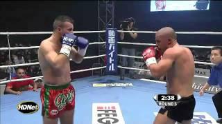 Best K1 Fight Ever!  Zambidis Vs. Chahid